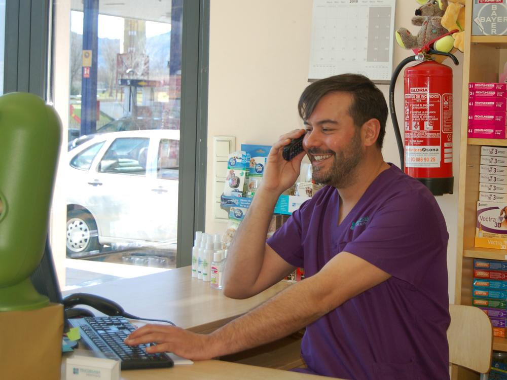 Pratdesaba Veterinaris Osona - Marc atenció al client